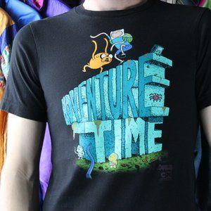 Cartoon Network Adventure Time Cartoon T-Shirt